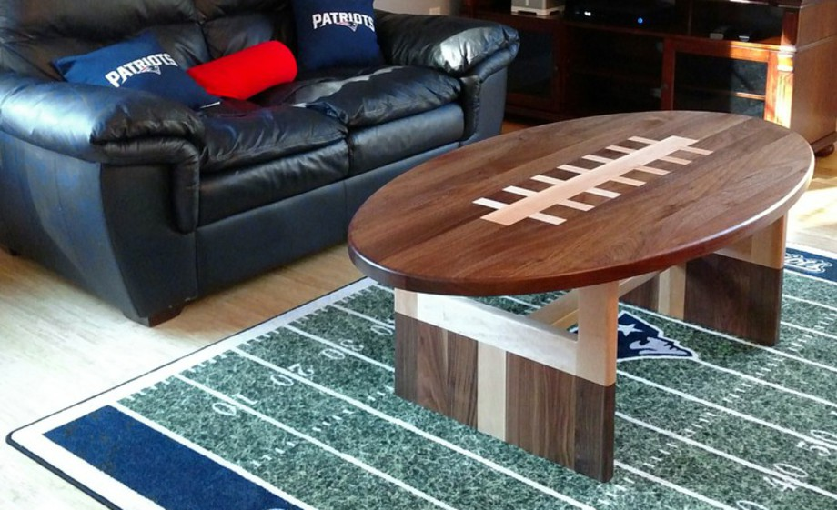 Our New And Original Football Coffee Table Design Is Available By Special  Order